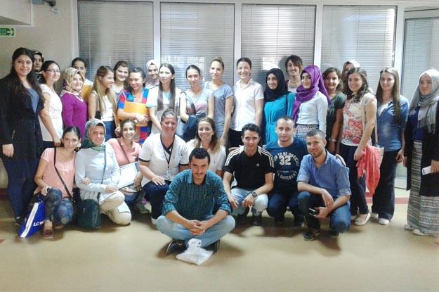 Beykoz'un yeni sağlıkçılarına uyum eğitimi