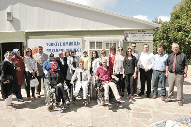 TOFD Beykoz Şubesi'ne Kalyoncu desteği