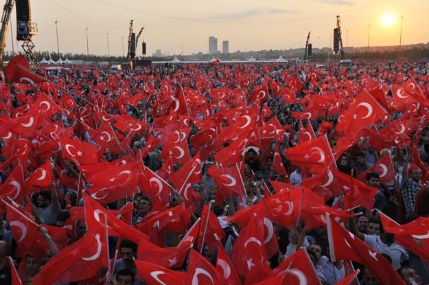 2000'i aşkın Beykozlu Yenikapı'daydı
