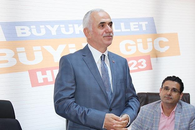 AK Partili Erol Kaya Beykoz'da ders verdi