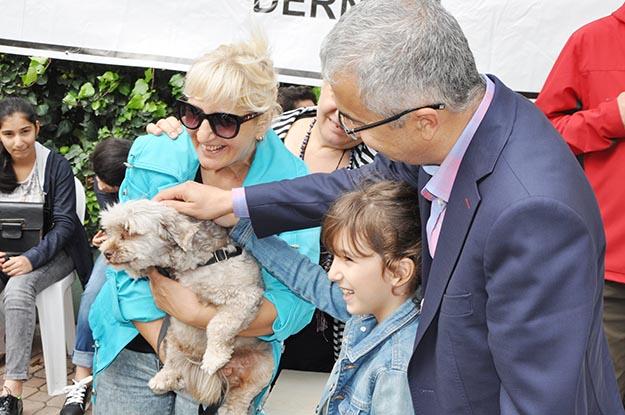 Beykoz'da hayvan sevgisi zirve yaptı