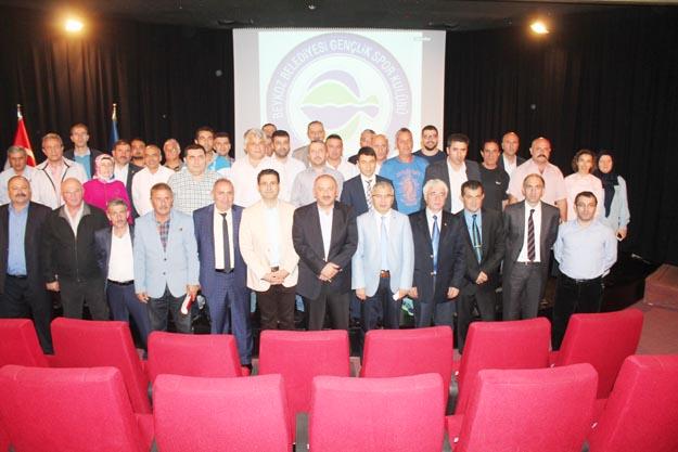 Beykoz Belediyespor'da kongre yapıldı...