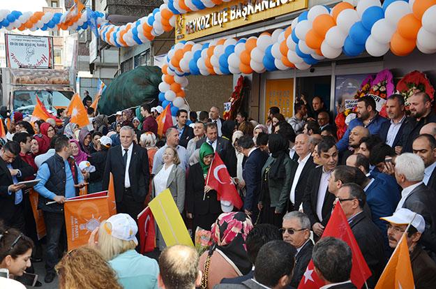 AK Parti Beykoz programları da iptal