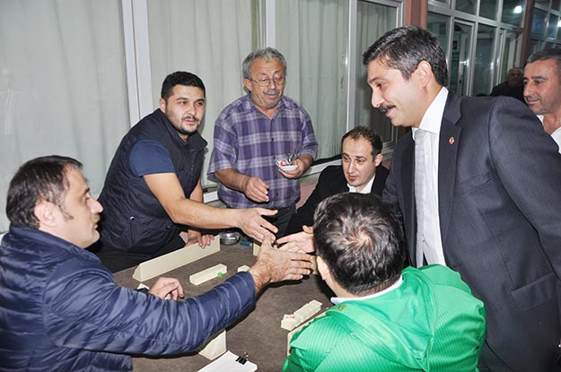 Beykoz MHP'den Kırıklı Derneği'ne seçim ziyareti