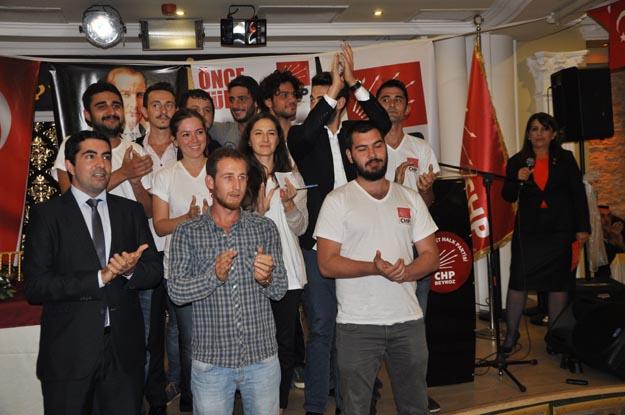 CHP Gençliği Beykoz'dan seslendi