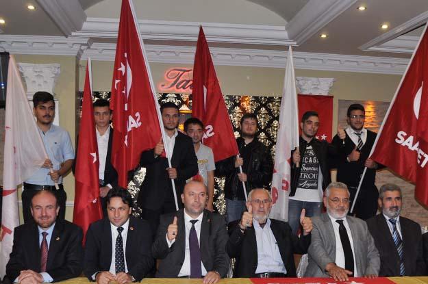 SP adayları Beykoz'da vitrine çıktı