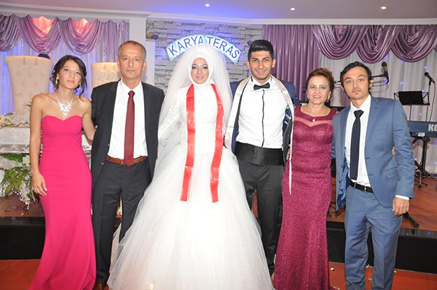 Beykoz'da kültürleri kaynaştıran muhteşem düğün