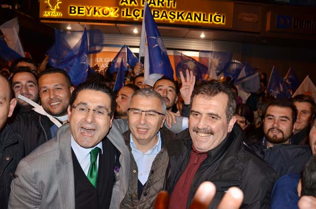 AK Parti Beykoz Teşkilatı zaferi böyle kutladı