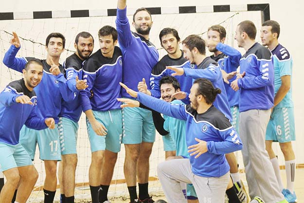 Beykoz'da 1. Lig hentbol derbisi