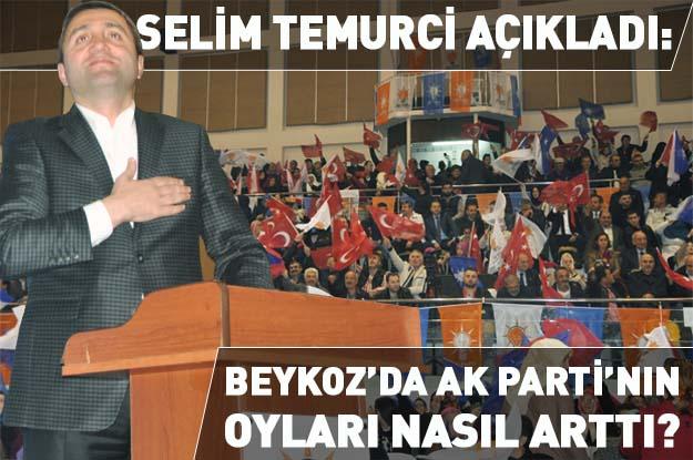 Beykoz'da AK Parti'nin oyları nasıl arttı?