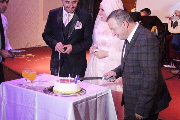 Doğum gününde kızı nişanlandı