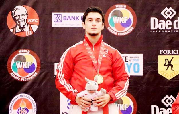Karatede Dünya şampiyonu Beykoz'dan