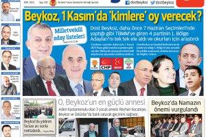 Dost Beykoz Gazetesi Ekim 2015... 150. Sayı