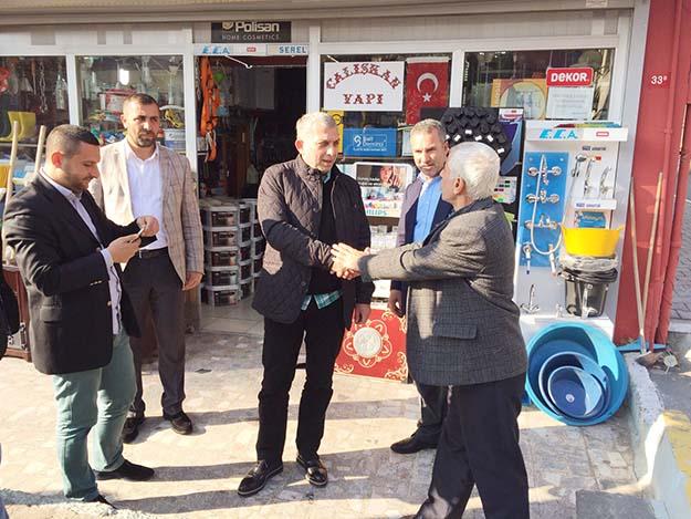 Metin Külünk'ten Beykoz'a vefa ziyareti