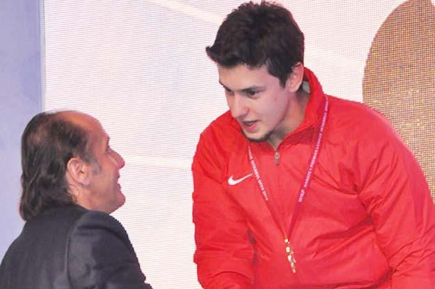 Beykoz'un Milli sporcusu TRT Spor'a konuk oldu
