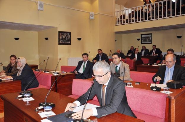 Belediye Meclisi'nde Vakıf tartışması