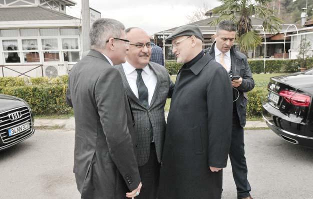 Başkanlar bu kez Beykoz'da buluştular