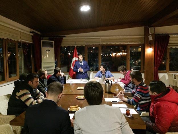 Beykoz Trabzon gençliği toplandı