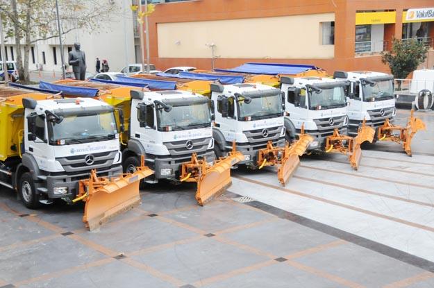 Beykoz Belediyesi kış hazırlıklarını tamamladı