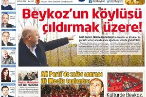 Dost Beykoz Gazetesi Aralık 2015... 152. Sayı