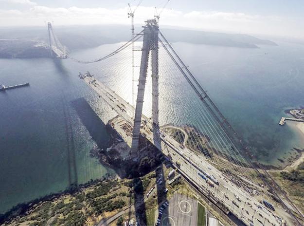 3. Köprü'de sona yaklaşıldı...