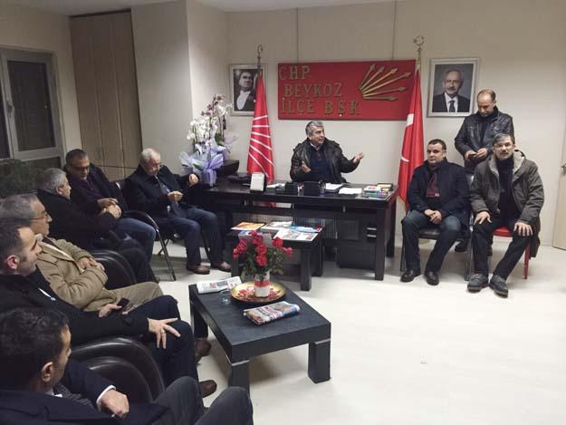 CHP Beykoz, yeniyıla Şişecam İşçileri'yle girdi