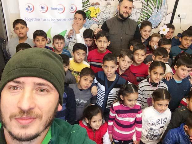 Beykozlular, Suriyeli Türkmenlerin içini ısıttı