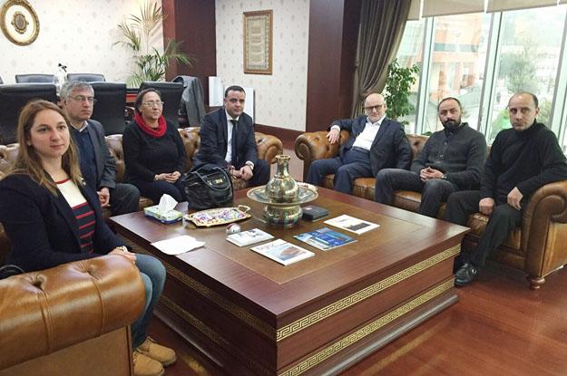 CHP Beykoz'dan Çelikbilek'e ziyaret