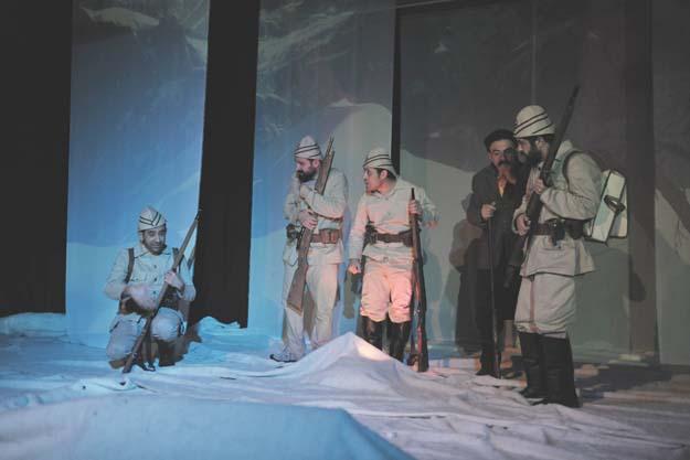 Sarıkamış Şehitleri Beykoz'da 'Beyaz Hüzün'le Anıldı
