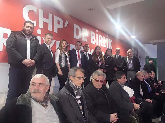 Beykozlu CHP'liler Kurultay'a gitti