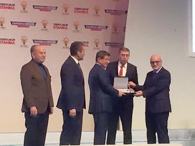 Beykoz AK Parti'ye 1.'lik ödülü