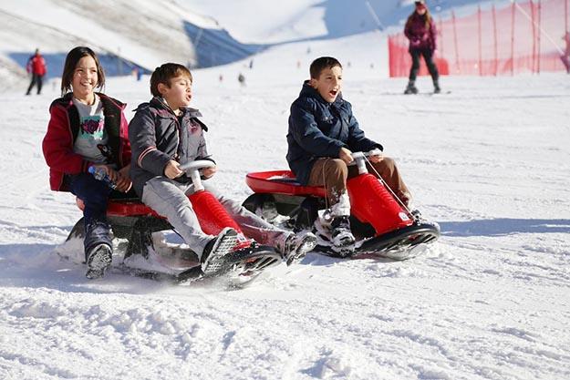 Beykozlu çocuklar, 1 Şubat'ta Palandöken'de