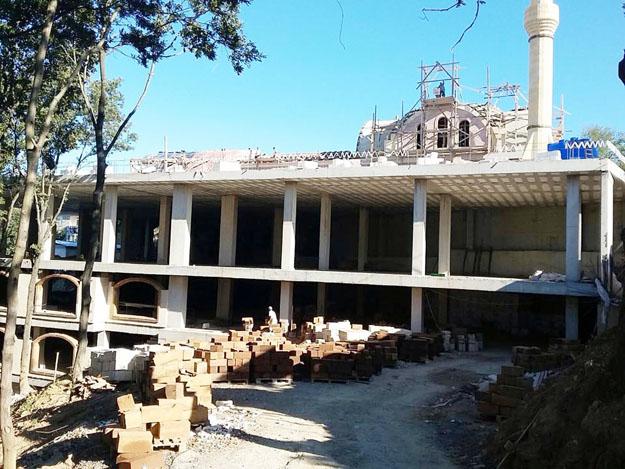 Marifet Derneği'nin binalarına yıkıma doğru