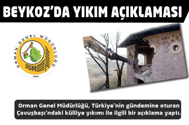 Orman Genel Müdürlüğü'nden 'külliye' açıklaması
