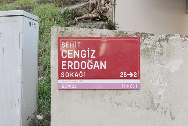 Beykoz'un sokakları şehit isimleriyle onurlanıyor