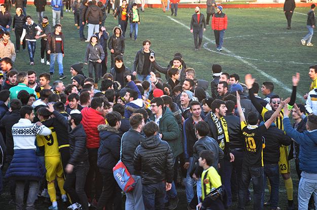 Beykoz'un final maçına Küçükköy taraftarları alınmayacak
