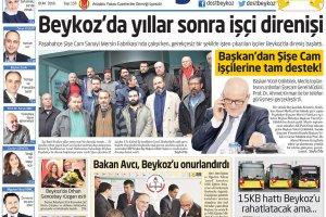 Dost Beykoz Gazetesi Ocak 2016... 153. Sayı