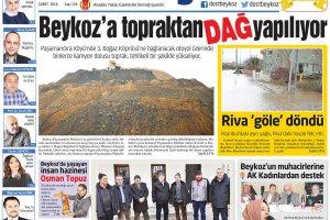 Dost Beykoz Gazetesi Şubat 2016... 154. Sayı