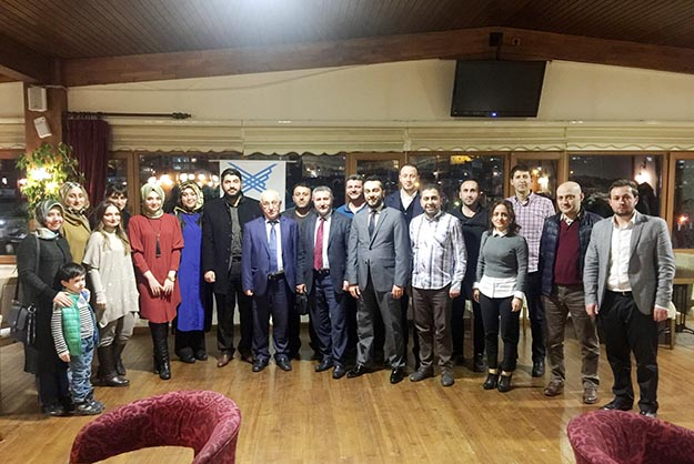 TÜGVA Beykoz'da öğretmenlerle buluştu