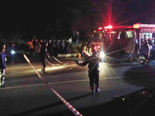 Beykoz Elmalı'da feci kaza… 3 ölü