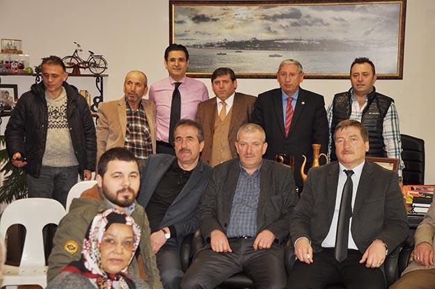 Umre Hacısı Muharrem Kaşıtoğlu'na ziyaretçi akını