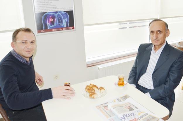 Kader Gür ile Dr. Ahmet Batu'nun çay simit sohbeti