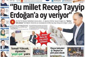 Dost Beykoz Gazetesi Mart 2016... 155. Sayı