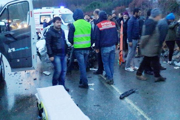 Beykoz Riva yolunda trafik kazası... Ölü sayısı 2 oldu