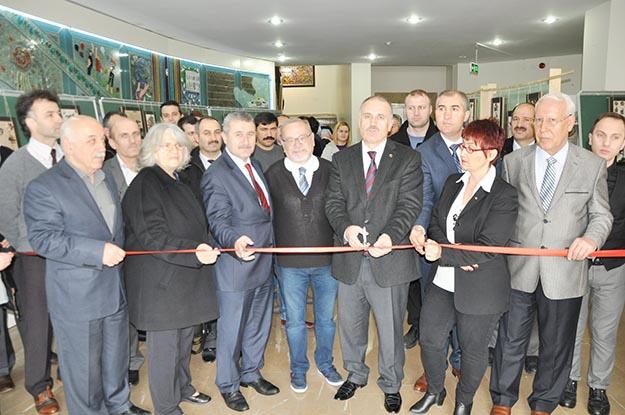 Beykoz'da taş sanat sergisi açıldı...