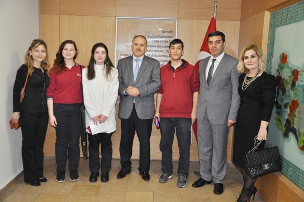 Kaymakam Katırcı, okullara araç sözü verdi