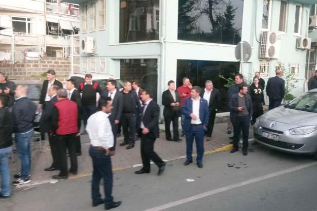 Beykoz'da direnen işçilere saldırı