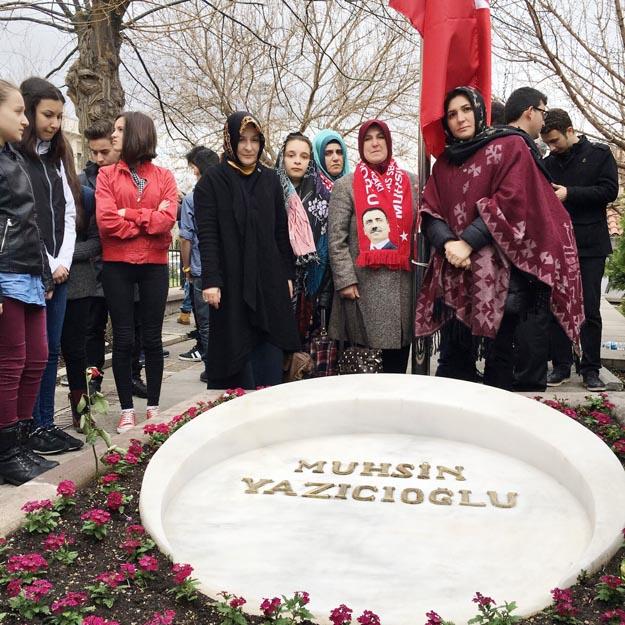 Beykozlu BBP'liler Muhsin Başkanı Ankara'da andı