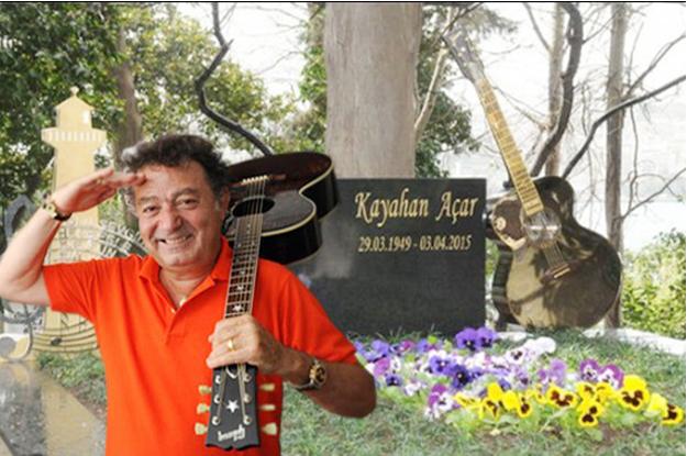 Kayahan'ın Kanlıca'daki kabri anıt mezara dönüştürüldü