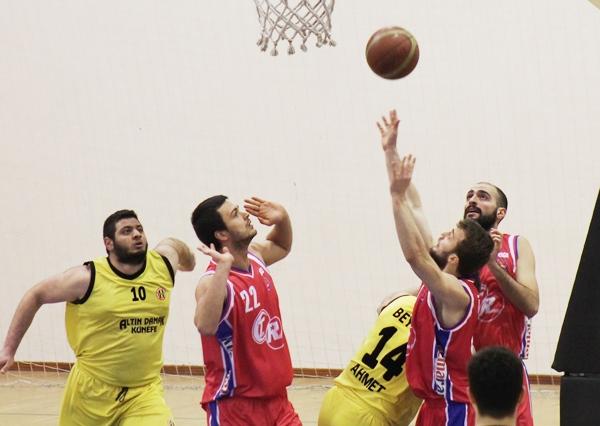 Beykoz baskette seriye devam etti